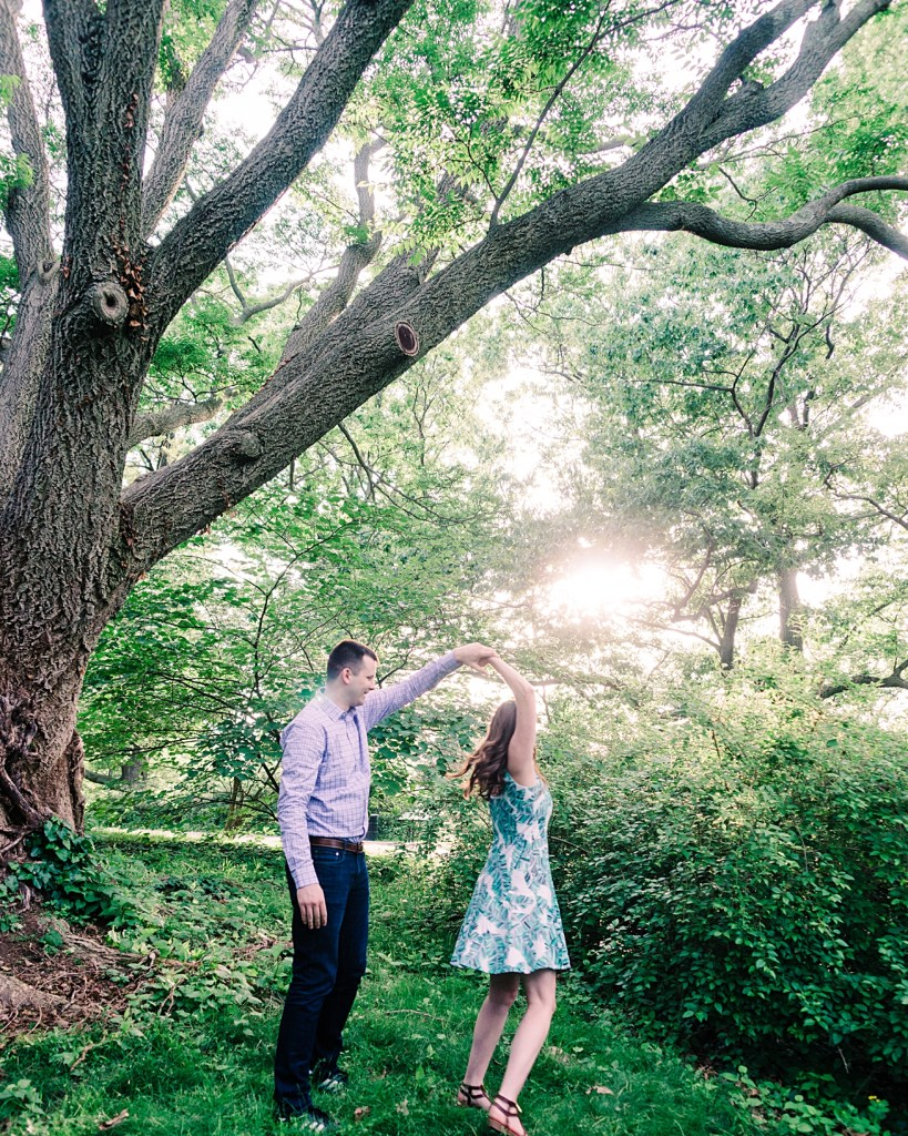 Happy Relaxed Fun | Dancing at Sunset in the Arnold Arboretum | Harvard University | Boston