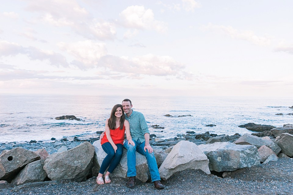 Maine Wedding and Engagement Photographer Sunset