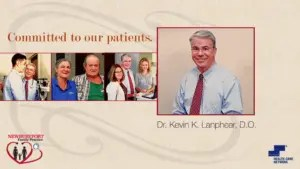 Doctor Lanphear is committed to his patients
