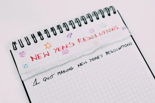 Healthy New Year's Resolutions  (you can actually achieve!)
