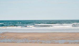 Plum Island waves crashing on the coast