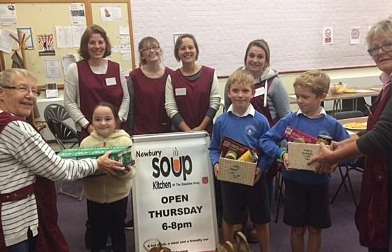 Week 39 – Enborne Primary School Donation