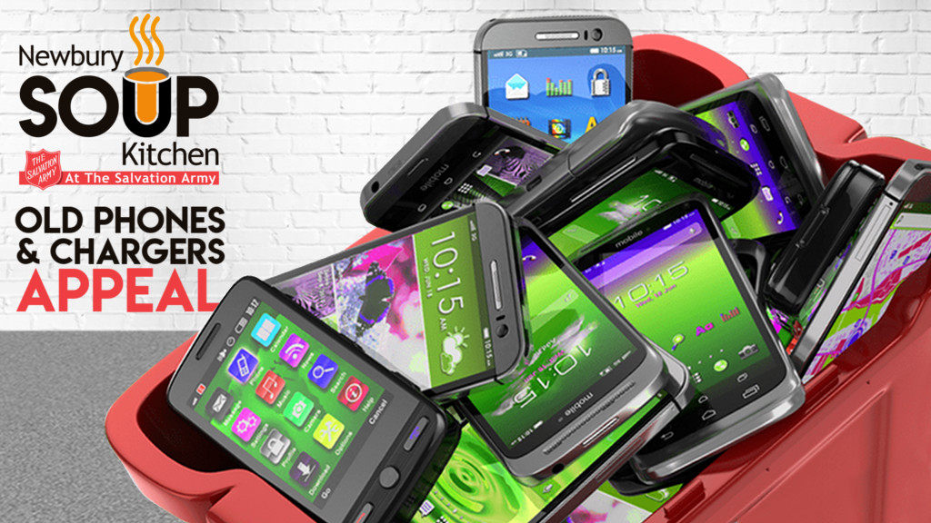 We are appealing for used phones and SIM cards to be donated to our homeless and rough sleepers.