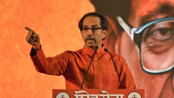 Image of shivsena chief uddhav thakrey