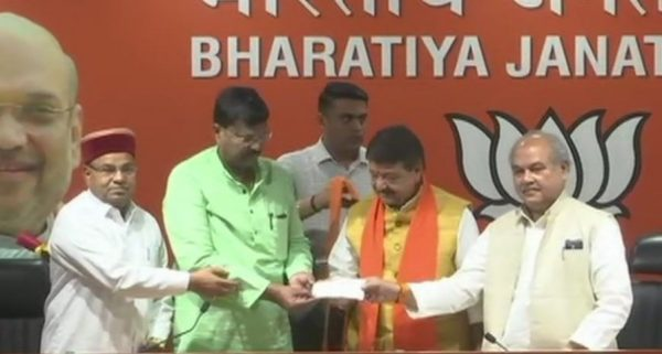 congress leader premchandra guddu joining bjp in presense of kailash vijayvargiya and narottam mishra