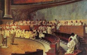 Roman Senate image