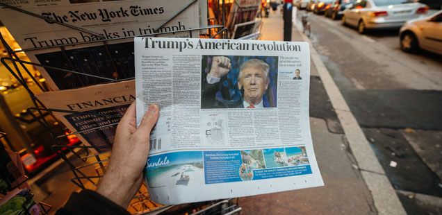 Shorenstein Report: Election News Coverage Failed the Voters