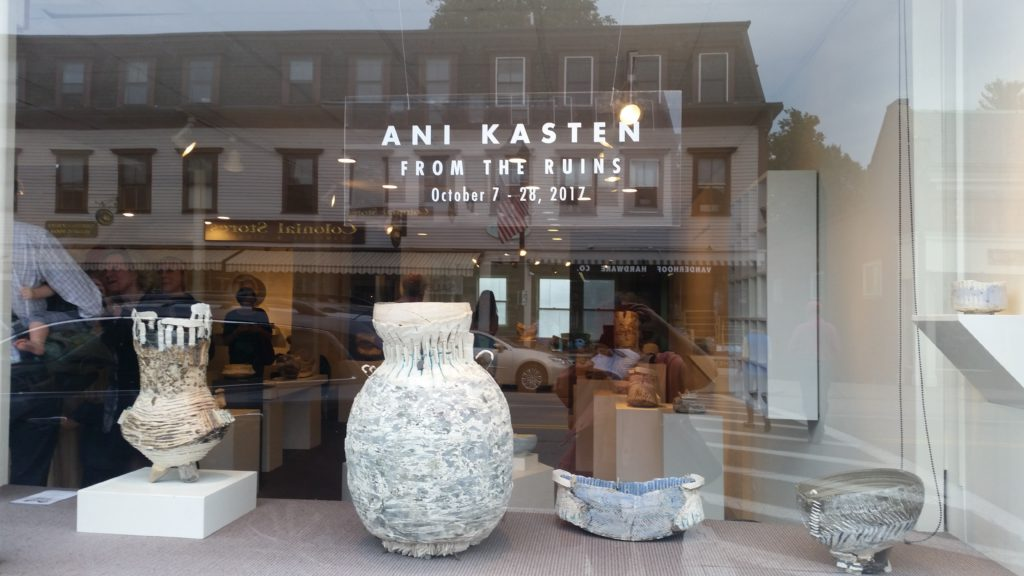 Ani Kasten Ceramics in Concord: Inspirational Art for Precarious Times