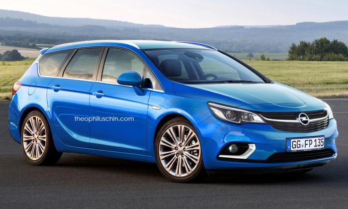 2018 Opel Astra OPC Spy Shots
