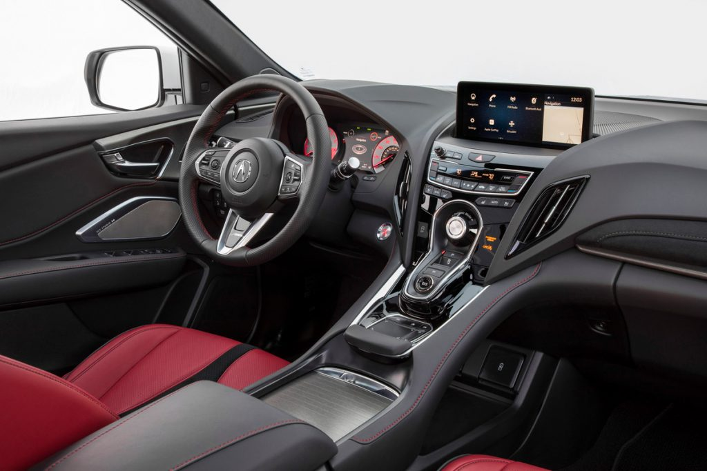 2019 Acura Rdx Debuts In New York Acura Connected Interior