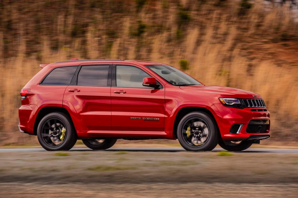 2019 Jeep Grand Cherokee Trackhawk Powertrain