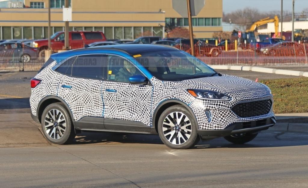 2020 Ford Edge Spy Photos