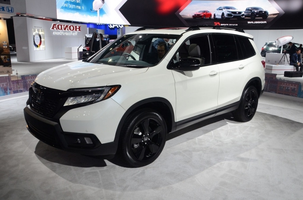 2020 Honda Passport  Spy Photos