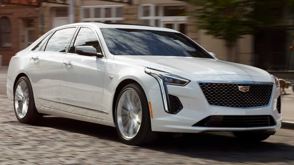 2020 Cadillac CT6 Spy Photos