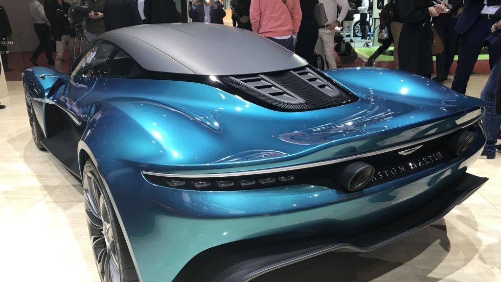 2023 Aston Martin Vanquish Redesign