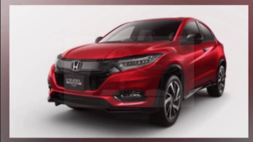 2023 Honda Vezels Spy Photos