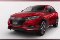 2021 Honda Vezels Spy Photos