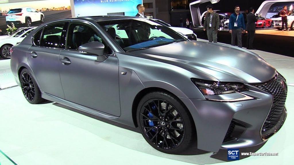 2023 Lexus GS F Spy Shots