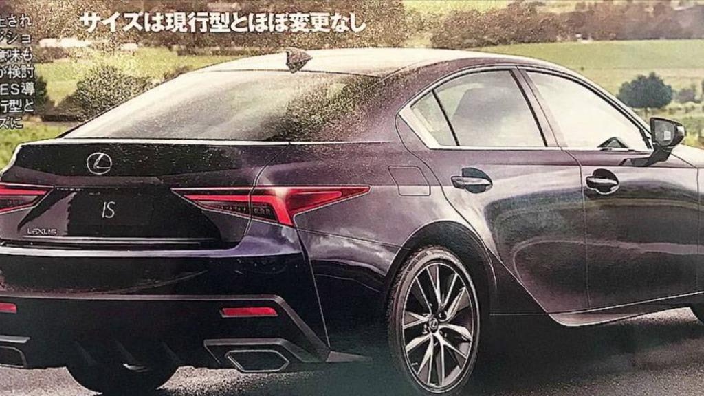 2023 Lexus IS350 Drivetrain
