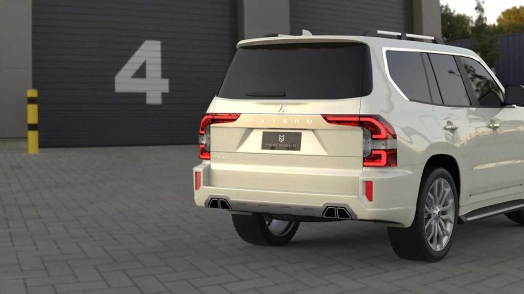 2023 Mitsubishi Pajero Pictures