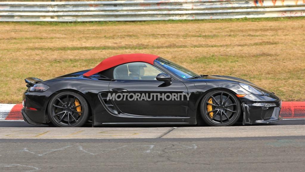 2023 Porsche Boxster Spyder Interior