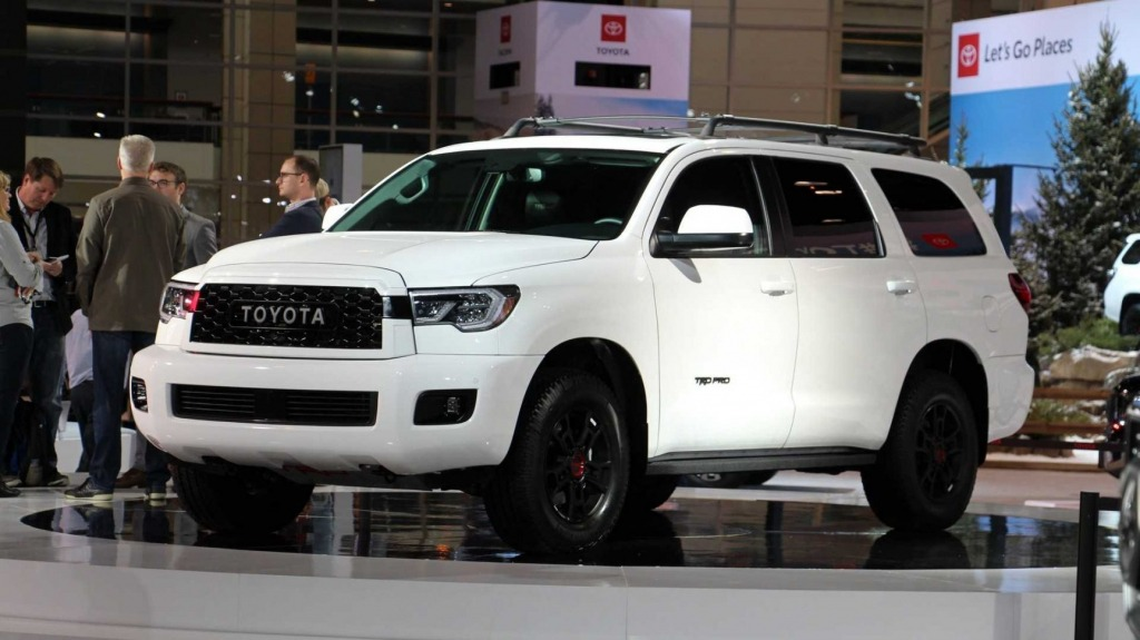 2023 Toyota Sequoias Exterior