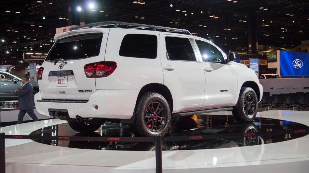 2023 Toyota Sequoias Interior