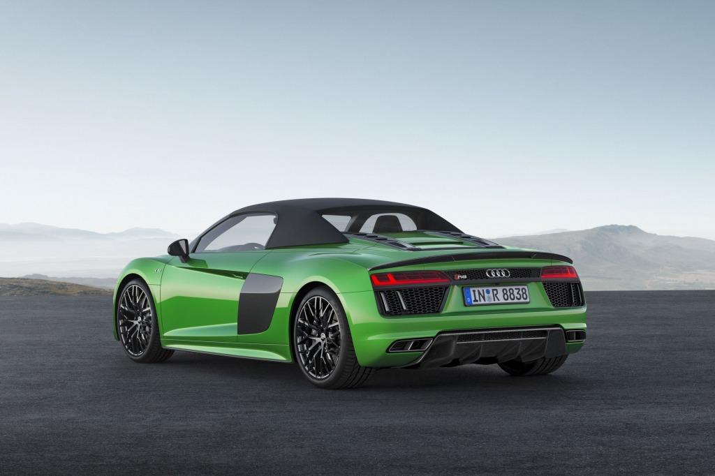 2023 Audi R8 LMXs Engine