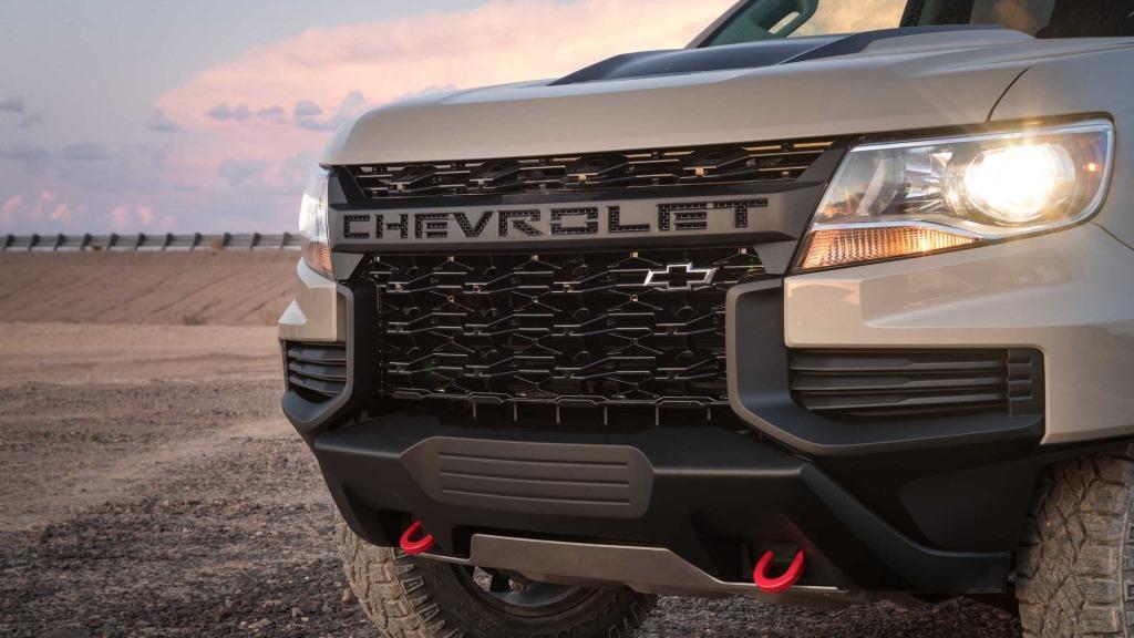2023 Chevrolet Colorado Spy Shots