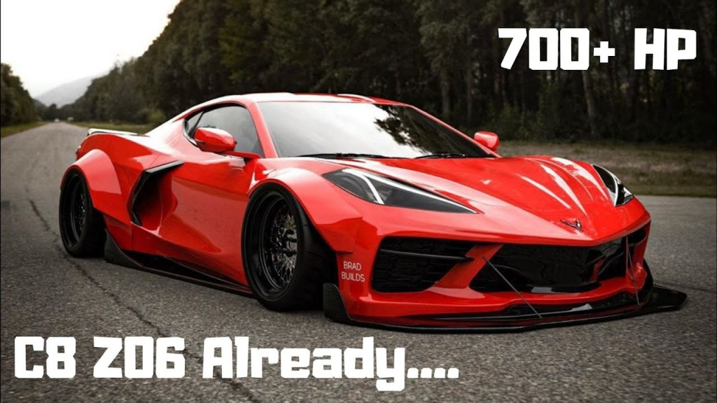 2023 Corvette Z07 Engine