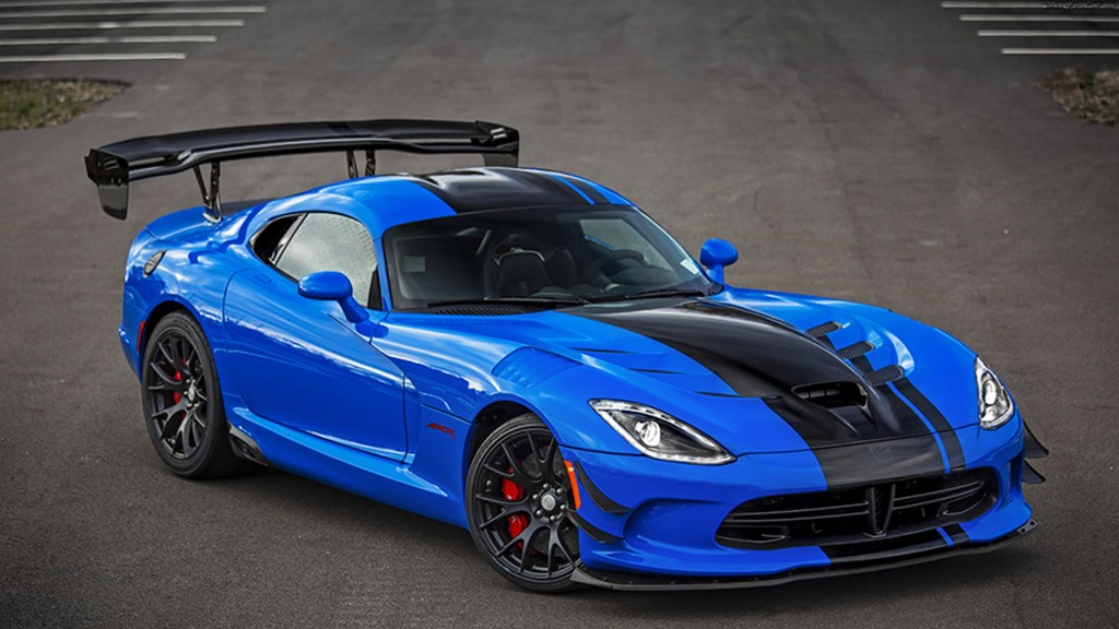 2023 Dodge Viper ACR Spy Shots