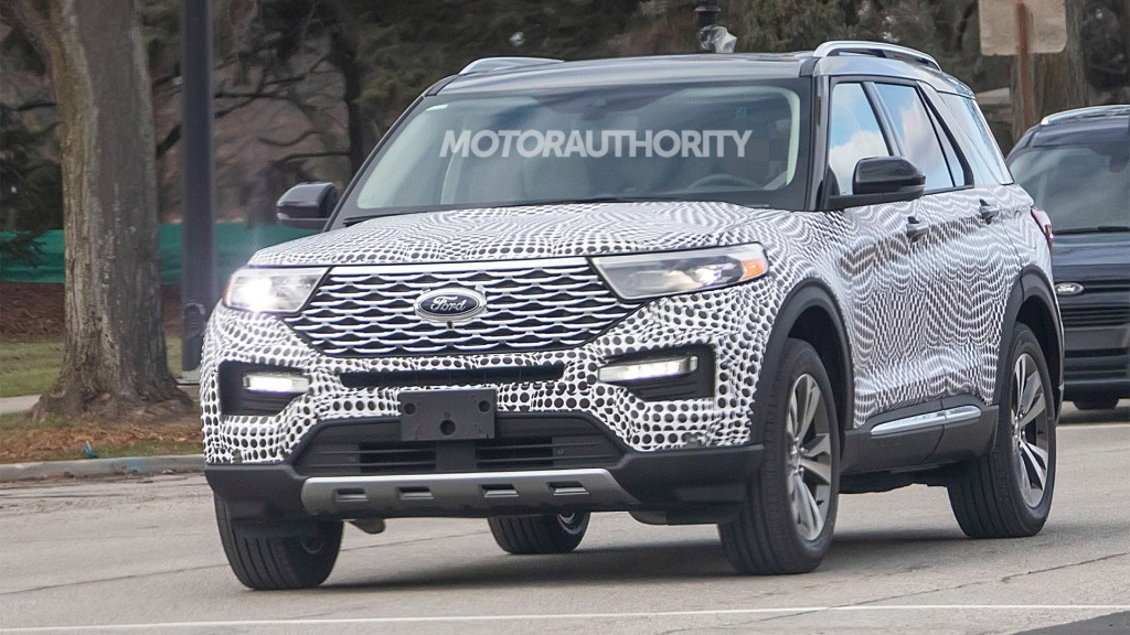 2021 Ford Explorer Sports Pictures