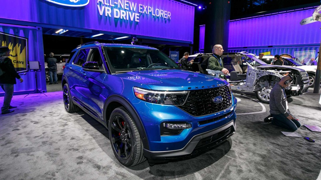 2023 Ford Explorer Sports Price