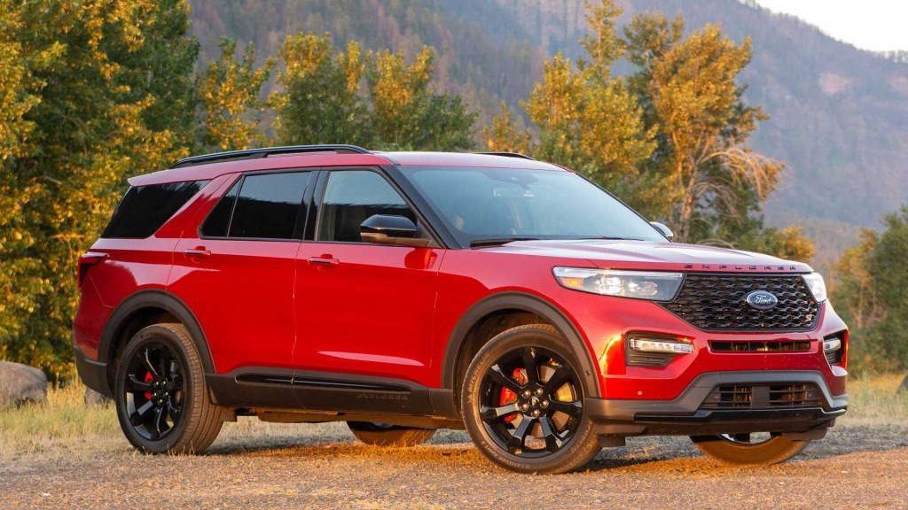 2023 Ford Explorer Sports Redesign