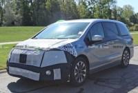 2023 Honda Odyssey Spy Shots