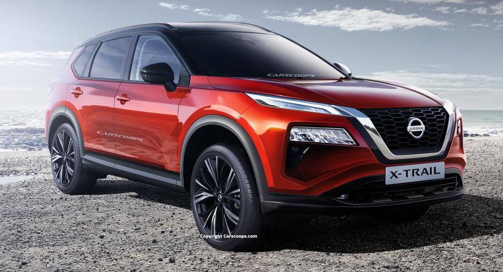 2023 Nissan Pathfinder Hybrid Spy Shots
