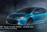 2021 Toyota Corolla Concept