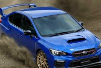 2021 Subaru WRX STI Engine