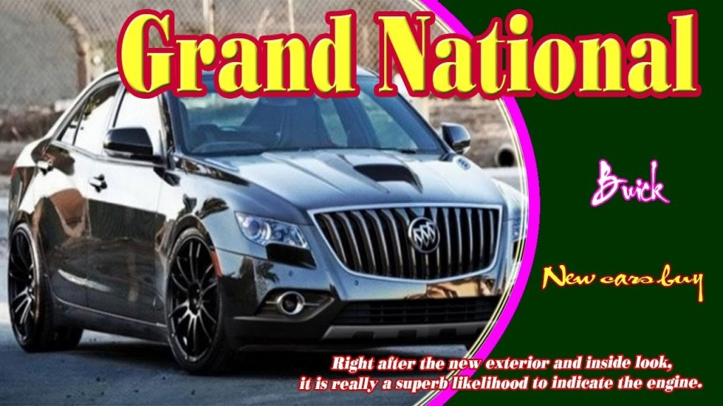 2023 Buick Grand Nationals Redesign