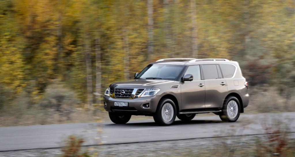 2022 Nissan Patrol Spy Shots