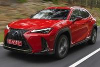 Lexus UX SUV 2023 Spy Photos