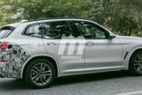 2023 BMW X3 Spy Photos