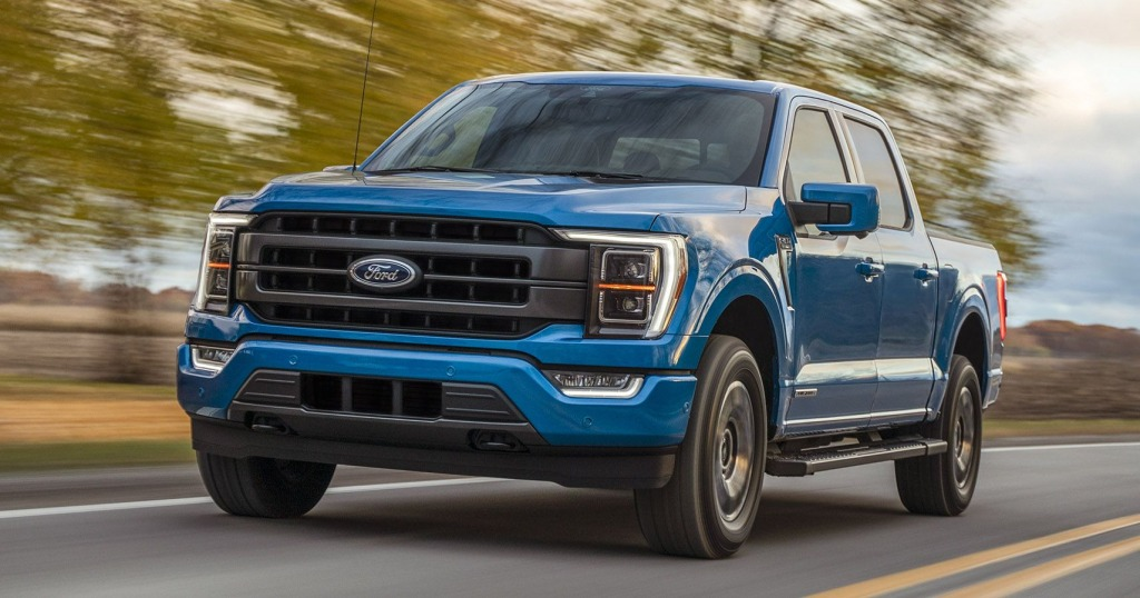 2023 Ford F150 Electric Truck Images