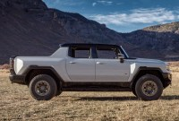 2023 GMC Hummer EV Drivetrain