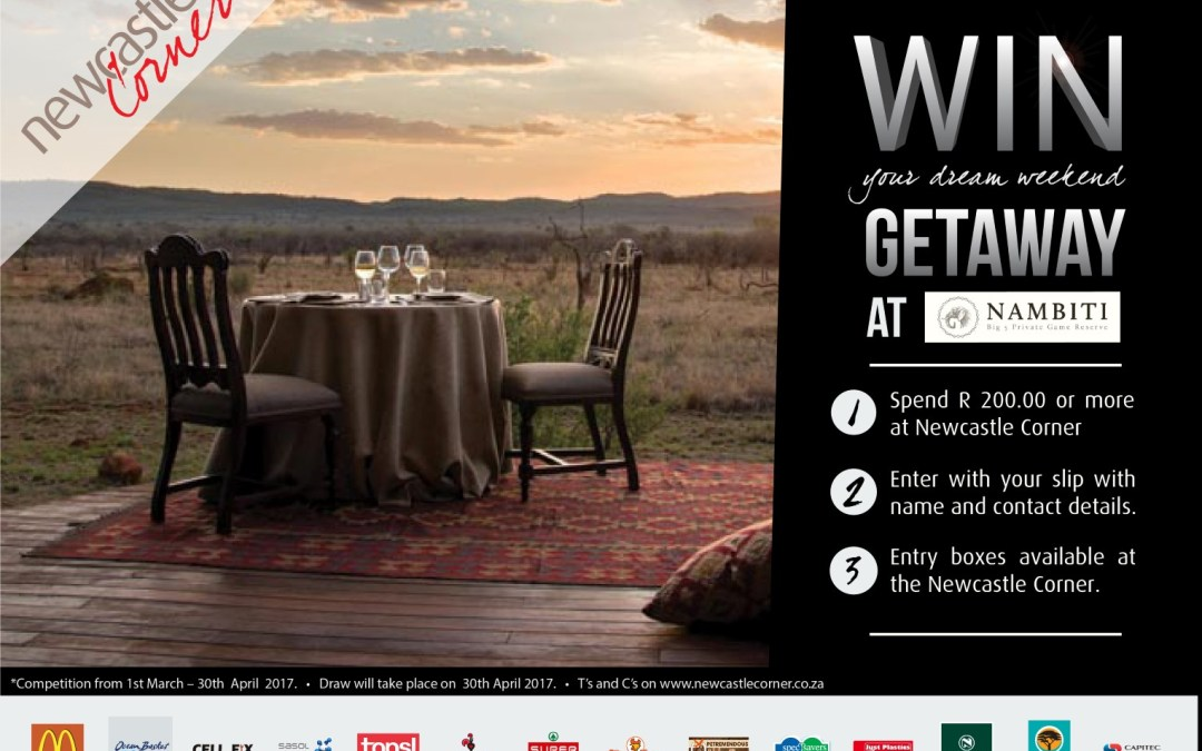 Win a Getaway to Nambiti Game Reserve!