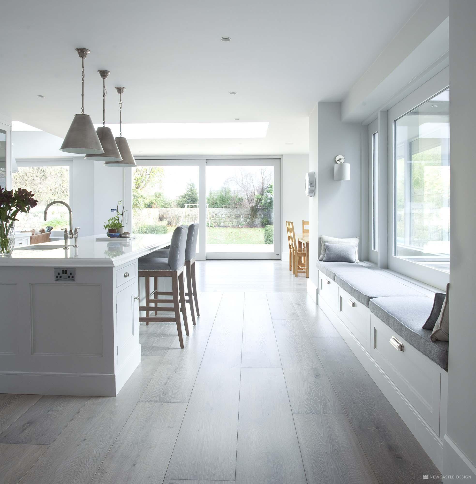 Open Plan Kitchen Design Contemporary Kitchens With Newcastle Design