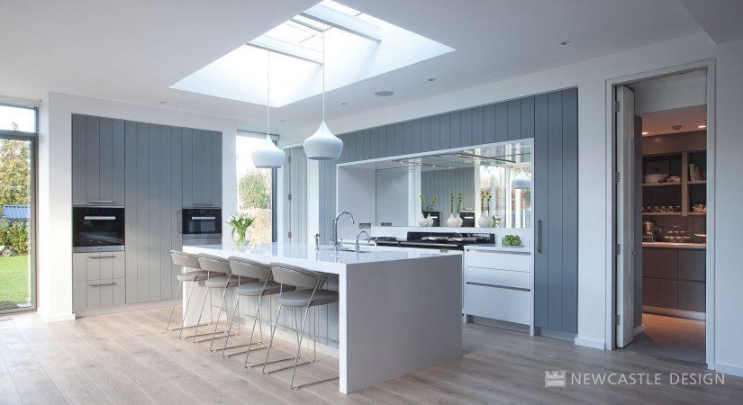 kitchen mirrors rubber mat mirror splashback natural lighting