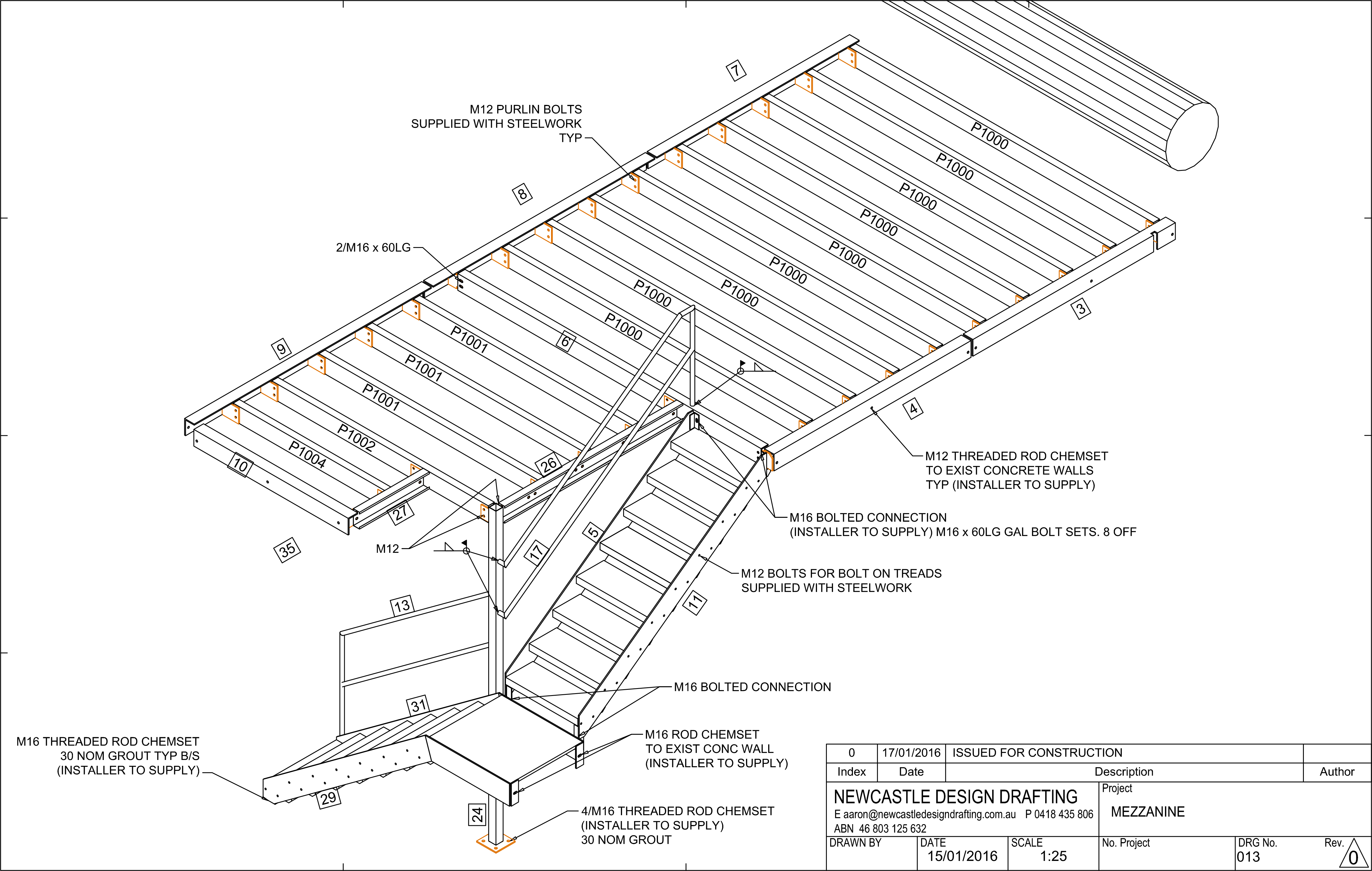 Shop Detailing By Newcastle Design Drafting