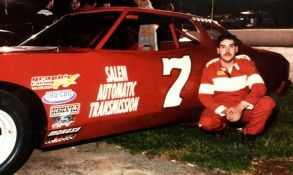 (1) As a young teen, before he even got his driver's license, Mike Looney raced at Franklin County Speedway and won. This was his very first car.