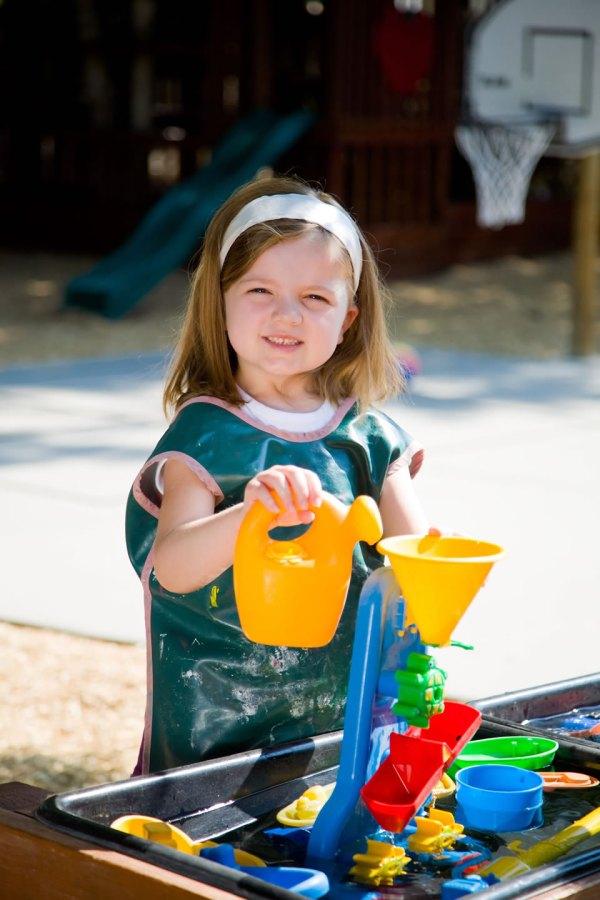 Outdoor Play Preschool - Newcastle School